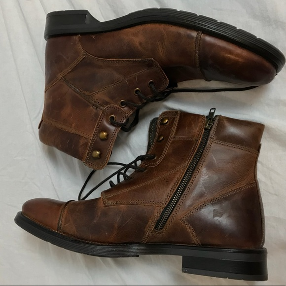 GBX Shoes   Gbx Mens Leather Boots